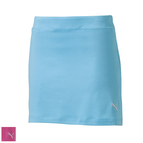 Puma Juniors Girls Solid Knit Golf Skirt