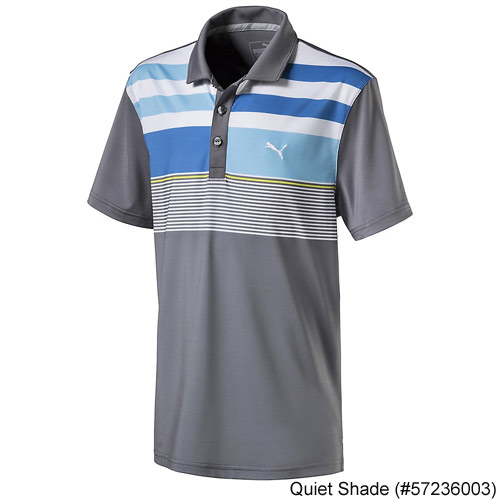 Puma Juniors Road Map Asym Golf Polo
