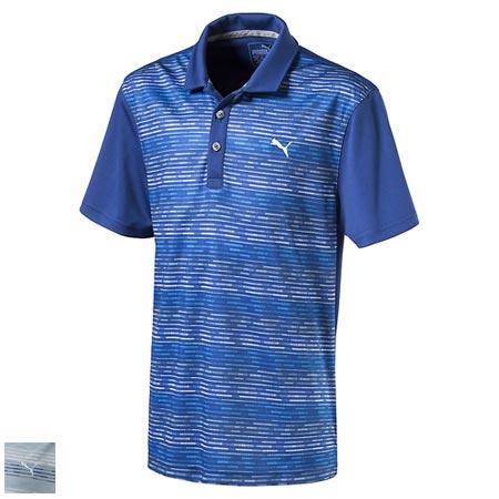 プーマ ゴルフ Juniors Road Map Golf Polo