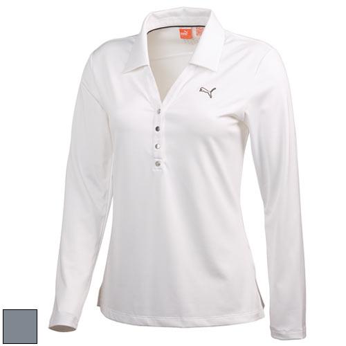 プーマ ゴルフ Ladies Golf Long Sleeve Polo Shirts