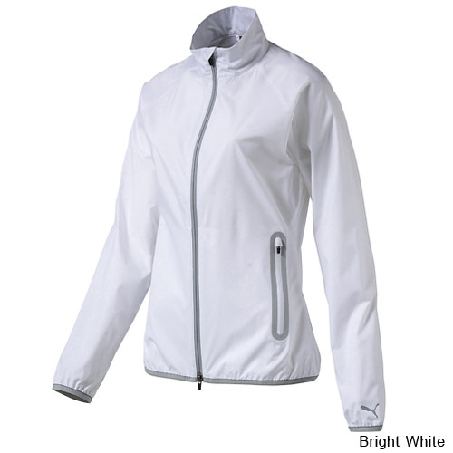 Puma Ladies Full Zip Wind Golf Jacket
