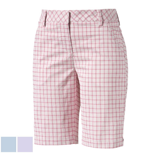 プーマ ゴルフ Ladies Plaid Golf Bermuda Shorts