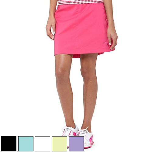 プーマ ゴルフ Ladies Tech Solid Golf Skirts