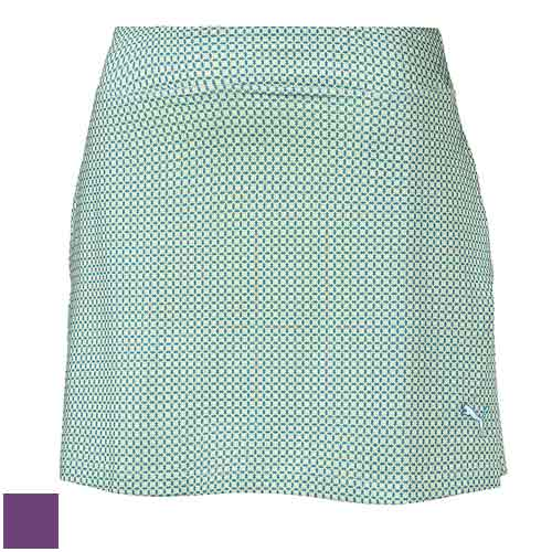 プーマ ゴルフ Ladies Pinwheel Knit Golf Skirt