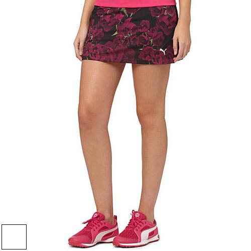 プーマ ゴルフ Ladies Bloom Knit Golf Skirt