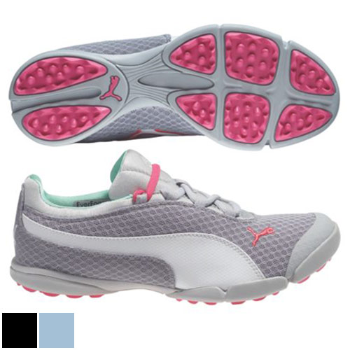 プーマ ゴルフ Ladies SunnyLite Mesh Golf Shoes