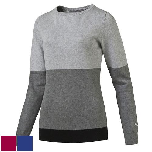 プーマ ゴルフ Ladies Colorblock Golf Sweater