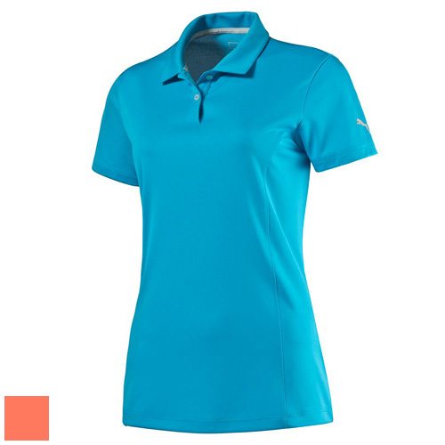 プーマ ゴルフ Ladies Cresting Pounce Polo (#570527)