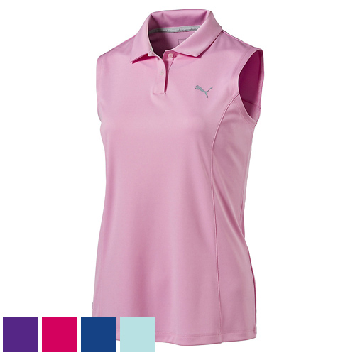 プーマ ゴルフ Ladies Pounce Sleeveless Golf Polo