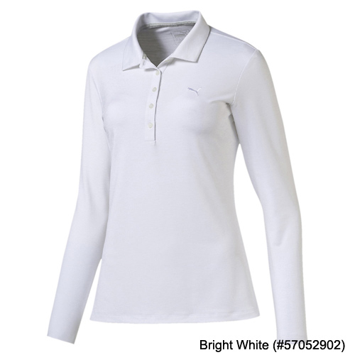 Puma Ladies Long Sleeve Golf Polo