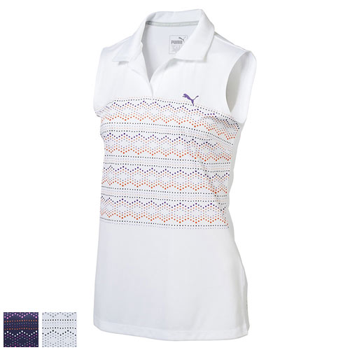 Puma Ladies Sleeveless 18 Hole Golf Polo (#572357)