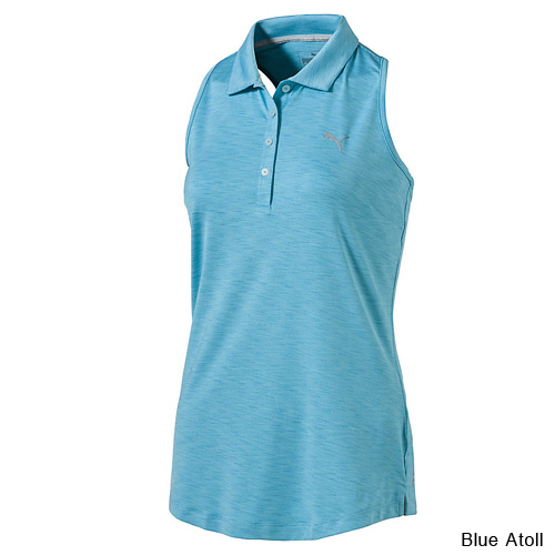 Puma Ladies Racebacl Sleeveless Golf Polo (#572372)