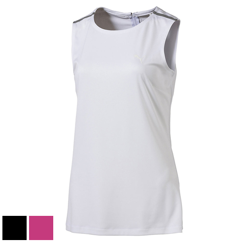 Puma Ladies Sleeveless Zip Fashion Top (#572373)