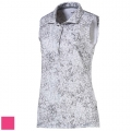 Puma Ladies Floral Sleeveless Golf Polo (#576158)
