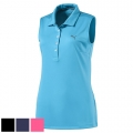 Puma Ladies Pounce Sleeveless Golf Polo (#574773)