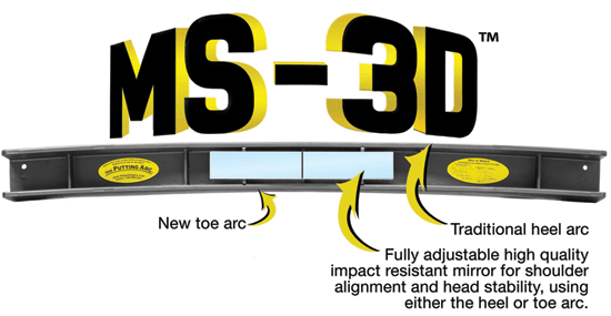 Putting Arc MS 3D Arcs