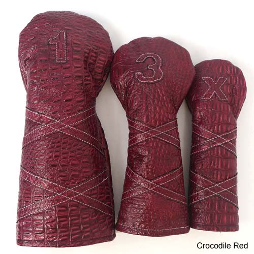 RBG Custom Leather Headcover Sets