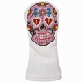 Sugar Skull Headcovers(100% Handmade)