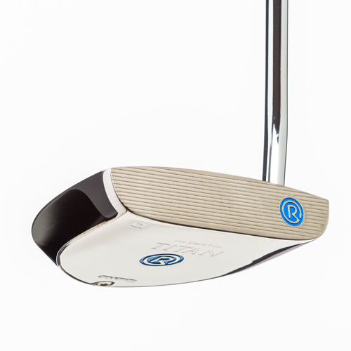 RIFE Vault Series Titan Black/Silver Finish Putters