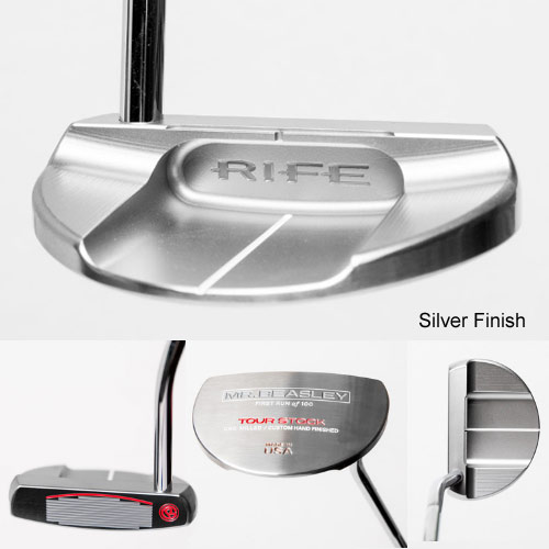 RIFE Limited Mr. Beasley Silver Finish Putters