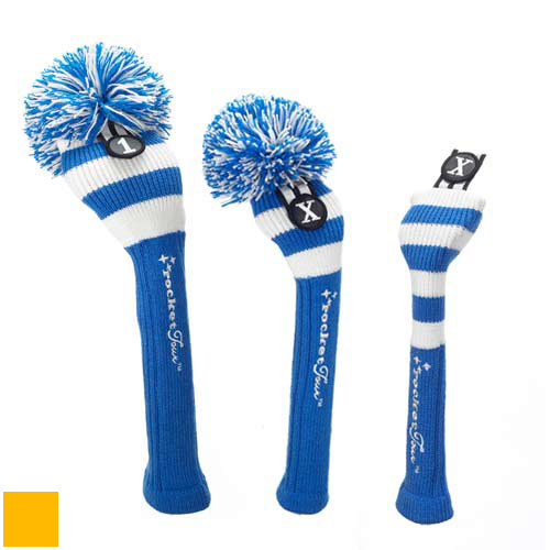 RocketTour Royal Blue Base Rugby Stripe Headcover