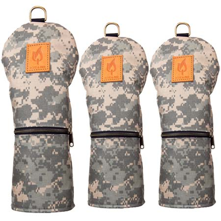 Rose & Fire Explorer Series MIL SPEC Digital Camouflage Headcove