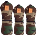 Rose & Fire Explorer Series Woodland Camouflage Headcover Sets