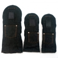 Rose & Fire Black Raw Denim Headcover Set