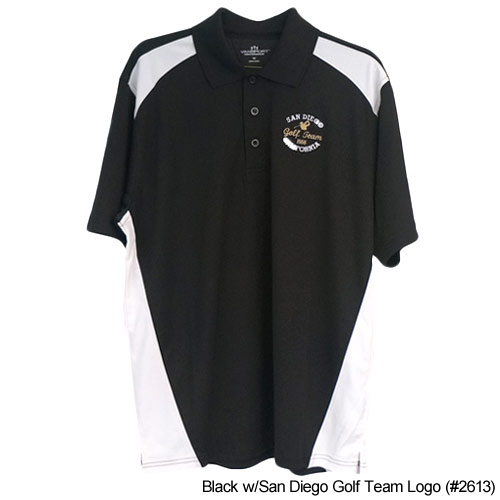 San Diego Gift Omega Sport Block Polo Shirts (#2613)
