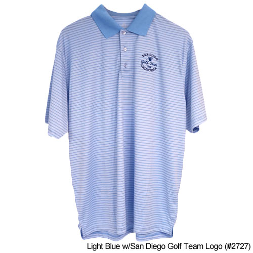San Diego Gift Stripe Polo Shirts (#2727)