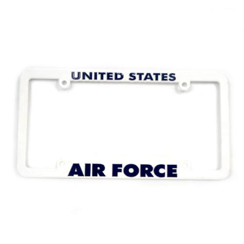 San Diego Gift Air Force Military Plastic License Plate Frames