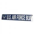 U.S. Air Force Blvd Metal Street Signs