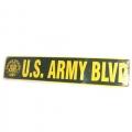U.S. Army Blvd Metal Street Signs
