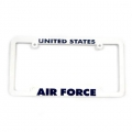 Air Force Military Plastic License Plate Frames