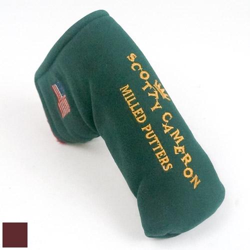 スコッティキャメロン Scotty Cameron Milled Putter Cover【ゴルフ アクセサリー>ヘッドカバー】