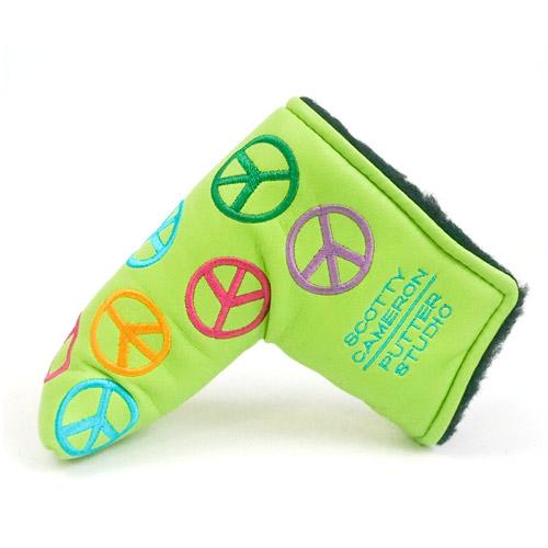 スコッティキャメロン Scotty Cameron 2003 Green Peace Putter Cover【ゴルフ アクセサリー>ヘッドカバー】