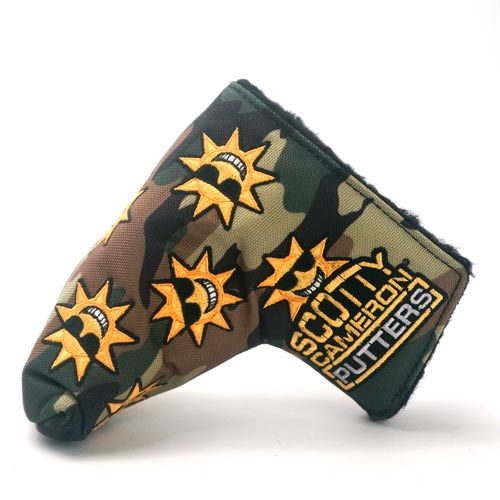 Scotty Cameron Sunshine Camo Limited Putter Cover