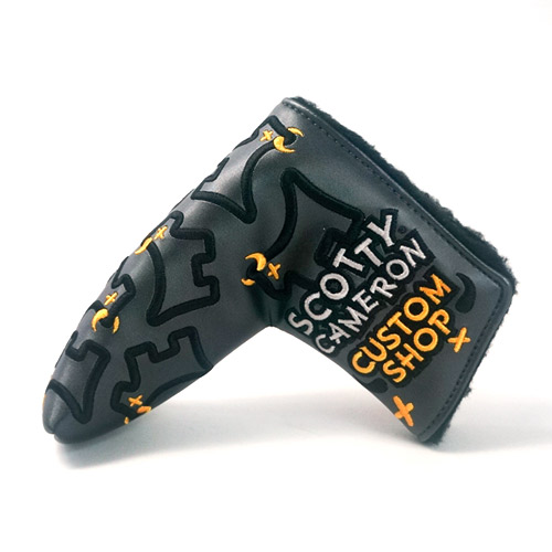 Scotty Cameron Dancing Junk Yard Dog Charcoal Putter Cover