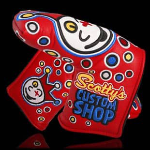 Scotty Cameron Jackpot Johnny Red Headcover