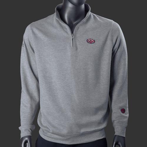 Scotty Cameron Laurel Crown Comfort Interlock Qtr Zip Sweater