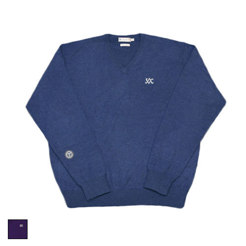 スコッティキャメロン Cashmere V-Neck Diamond SC Sweaters