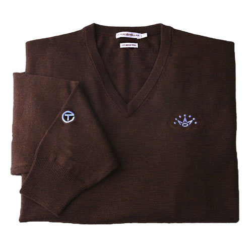 スコッティキャメロン 2012 Italian Merino Wool V-Neck Sweaters