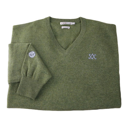 スコッティキャメロン 2012 V-Neck Cashmere Oregano Sweaters