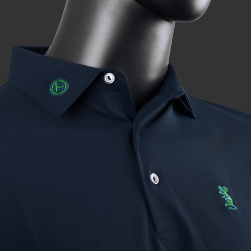 Scotty Cameron Tour Rat Tech Stretch Fabric Polo Shirts