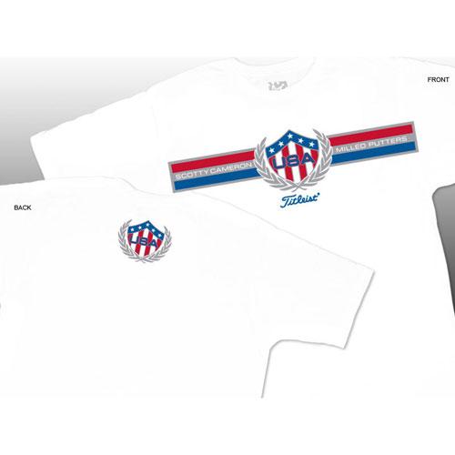 スコッティキャメロン 2012 USA T-shirts/スコッティキャメロン2012 USA Tシャツ【ゴルフウェアScottyCameron(スコッティキャメロン)】/SCT0787/ScottyCameron(スコッティキャメロン)/激安クラブ USAから直送【フェアウェイゴルフインク】