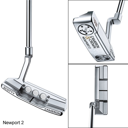 Scotty Cameron 2016 Cameron & Crown Putter