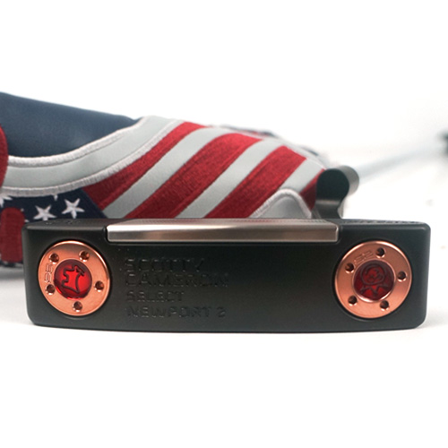 Scotty Cameron Newport 2 Translucent Red Putter