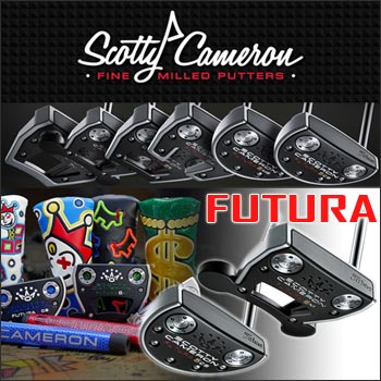 Scotty Cameron 2017 FUTURA Custom Putters