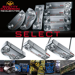 Scotty Cameron 2018 Select 特注パター