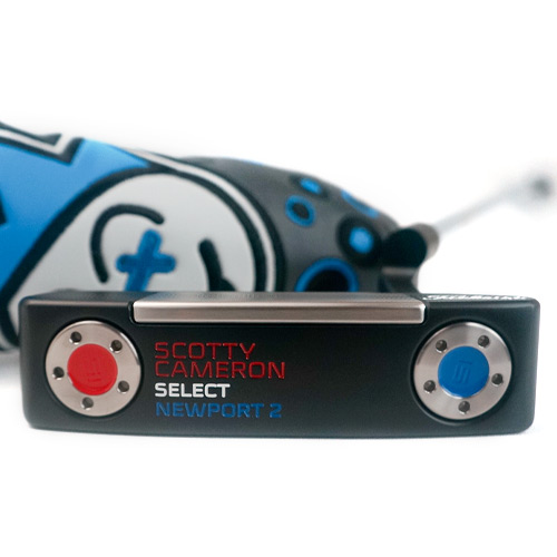 Scotty Cameron Newport 2 Red/Blue/White Custom Putter